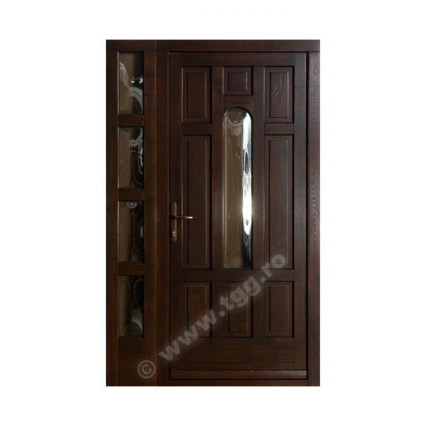 Usa de exterior din Stejar Triplustratificat, wenge, EST-022