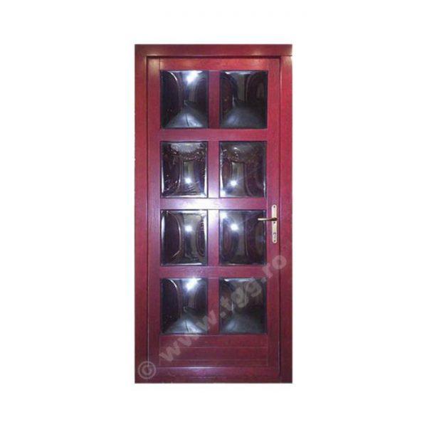 Usa de exterior din Stejar Triplustratificat, mahon, EST-038